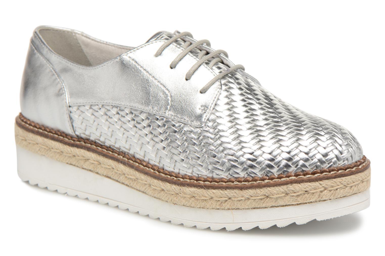 Los últimos zapatos de descuento para hombres y mujeres Tamaris Ceres (Plateado) - Zapatos con cordones en Más cómodo