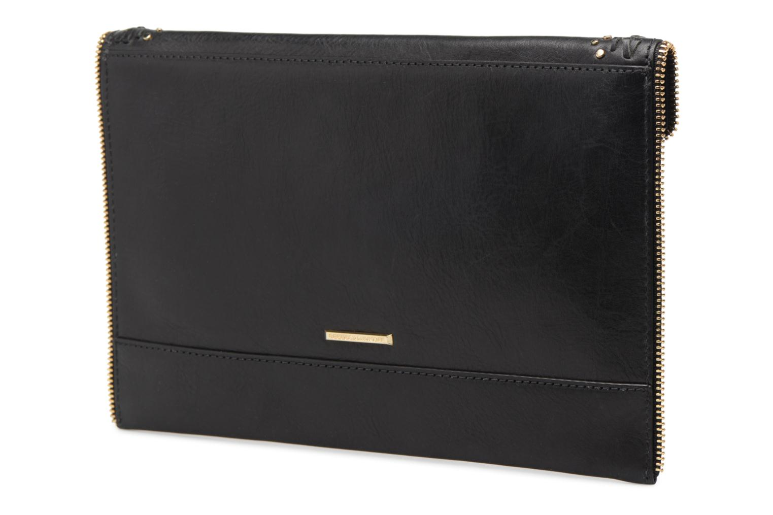 Clutch Rebecca Minkoff LEO CLUTCH WITH STUDS Zwart rechts