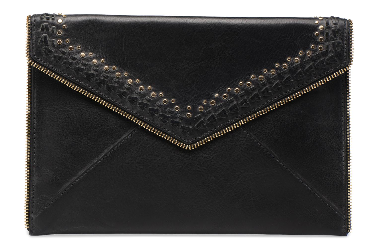 Clutch Rebecca Minkoff LEO CLUTCH WITH STUDS Zwart detail