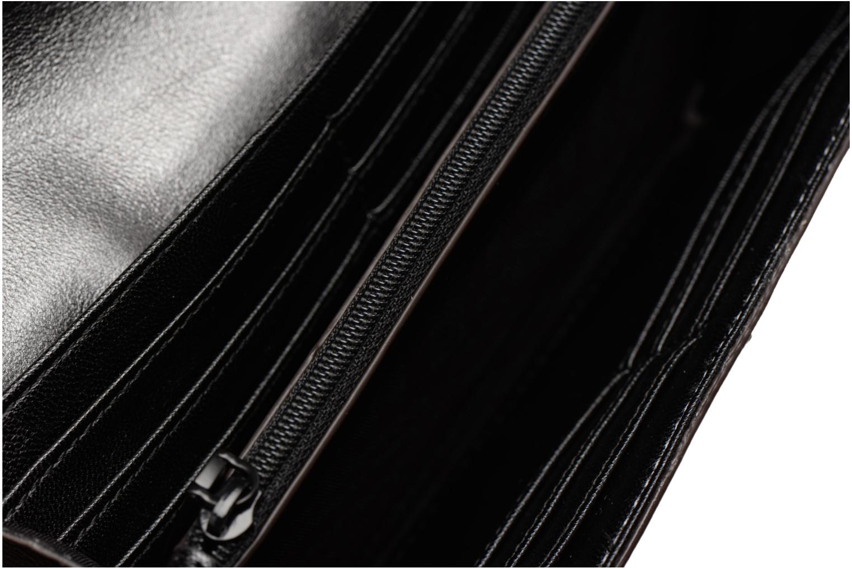 Portemonnaies & Clutches Rebecca Minkoff METALLIC LARGE WALLET grau ansicht von hinten