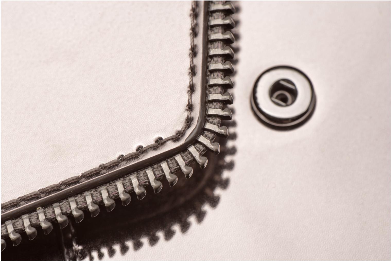 Portemonnaies & Clutches Rebecca Minkoff METALLIC LARGE WALLET grau ansicht von links