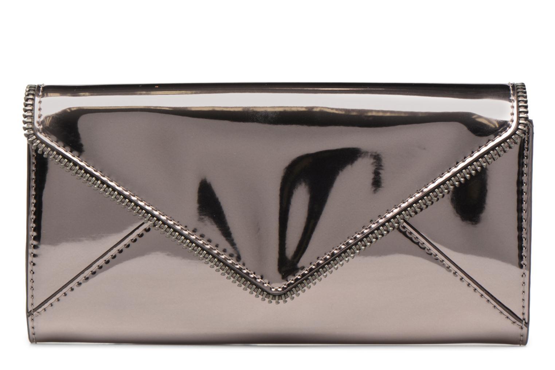 Portemonnaies & Clutches Rebecca Minkoff METALLIC LARGE WALLET grau detaillierte ansicht/modell