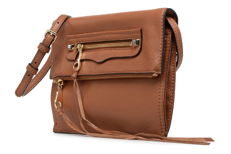 Handtaschen Rebecca Minkoff SMALL REGAN CLUTCH braun schuhe getragen
