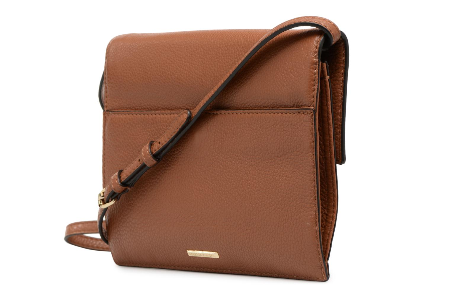 Sacs à main Rebecca Minkoff SMALL REGAN CLUTCH Marron vue droite