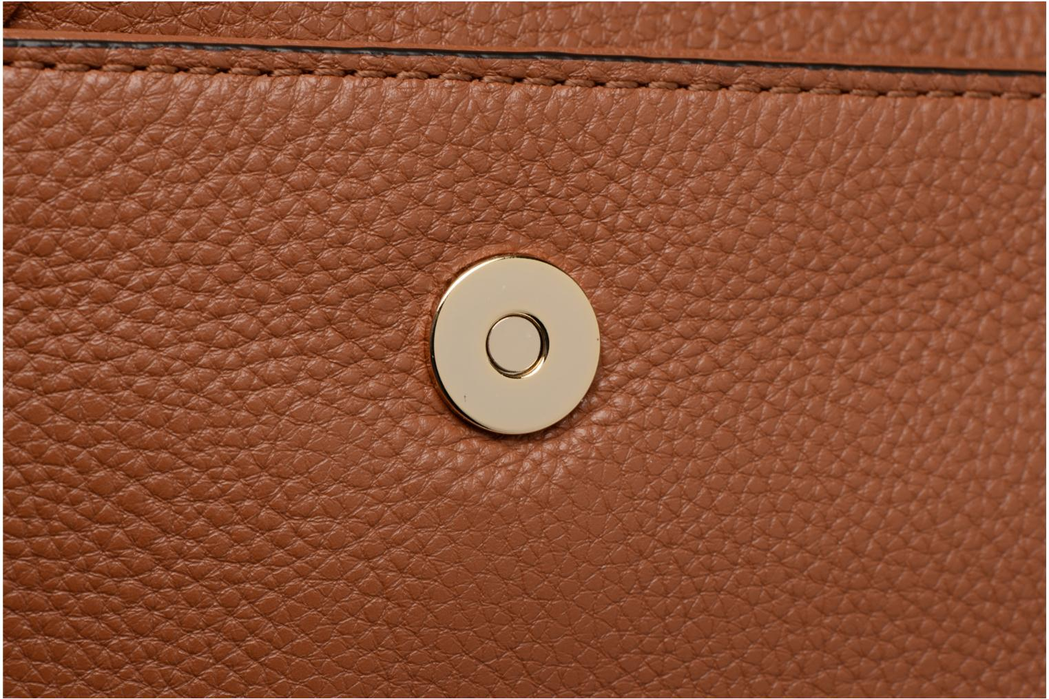 Sacs à main Rebecca Minkoff SMALL REGAN CLUTCH Marron vue gauche