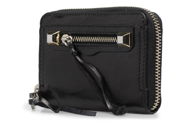Portemonnaies & Clutches Rebecca Minkoff MINI REGAN ZIP WALLET schwarz schuhe getragen