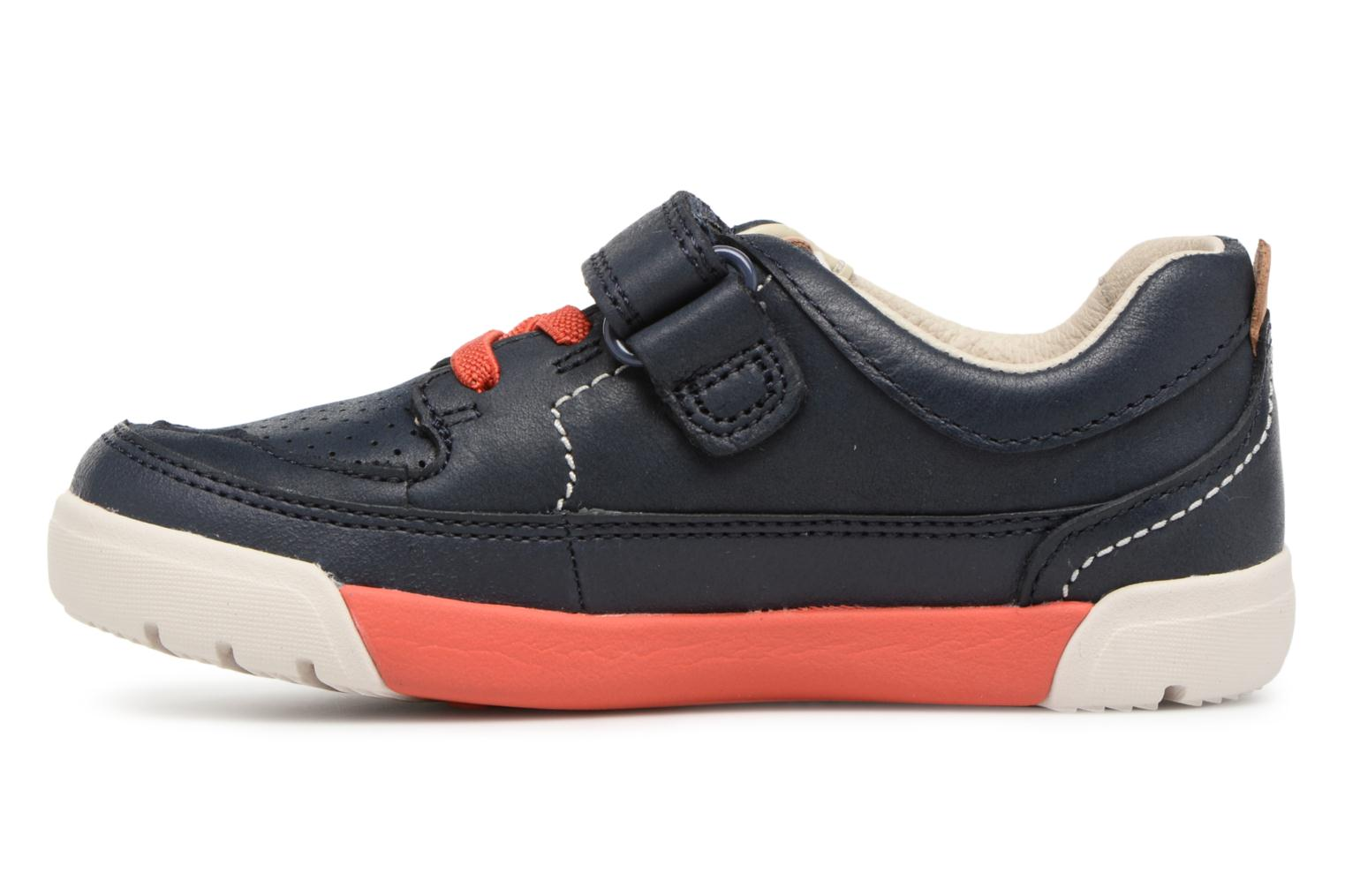 Trainers Clarks Mini Oasis Blue front view