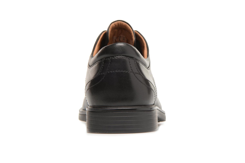 Un Aldric Cap Black leather
