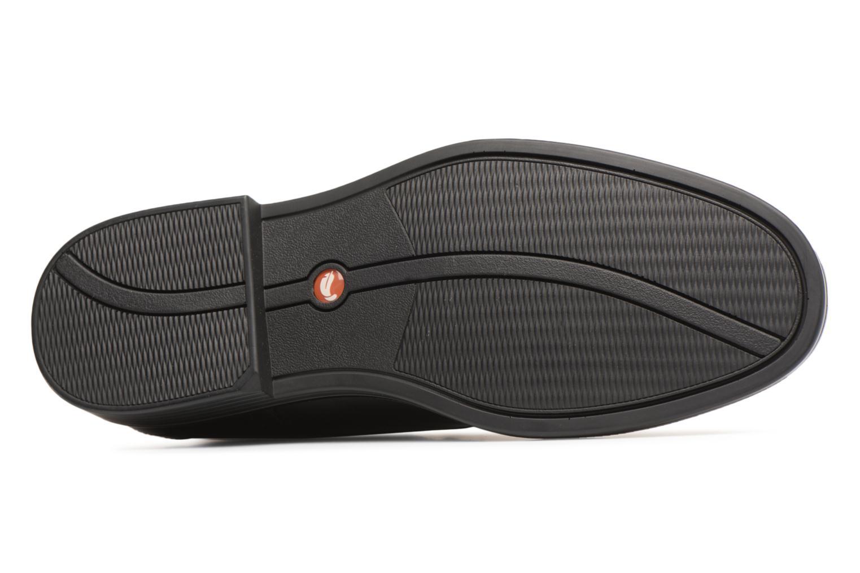 Chaussures à lacets Clarks Unstructured Un Aldric Cap Noir vue haut