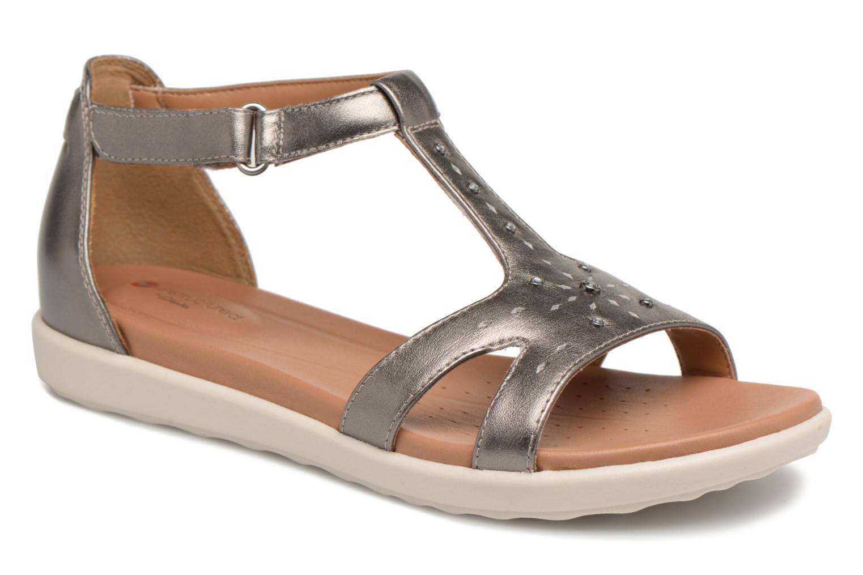 Zapatos promocionales Clarks Unstructured Un Reisel Mara (Plateado) - Sandalias   Zapatos de mujer baratos zapatos de mujer