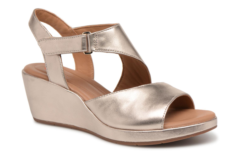 Zapatos promocionales Clarks Unstructured Un Plaza Sling (Oro y bronce) - Sandalias   Cómodo y bien parecido