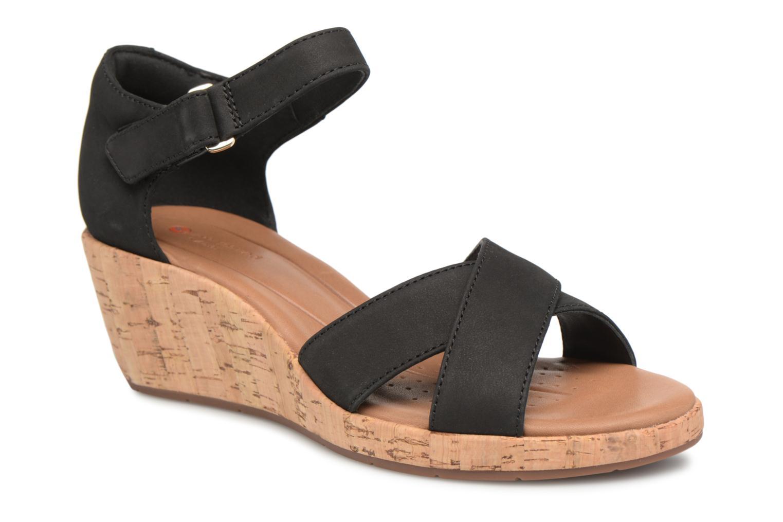 Zapatos promocionales Clarks Unstructured Un Plaza Cross (Negro) - Sandalias   Zapatos casuales salvajes