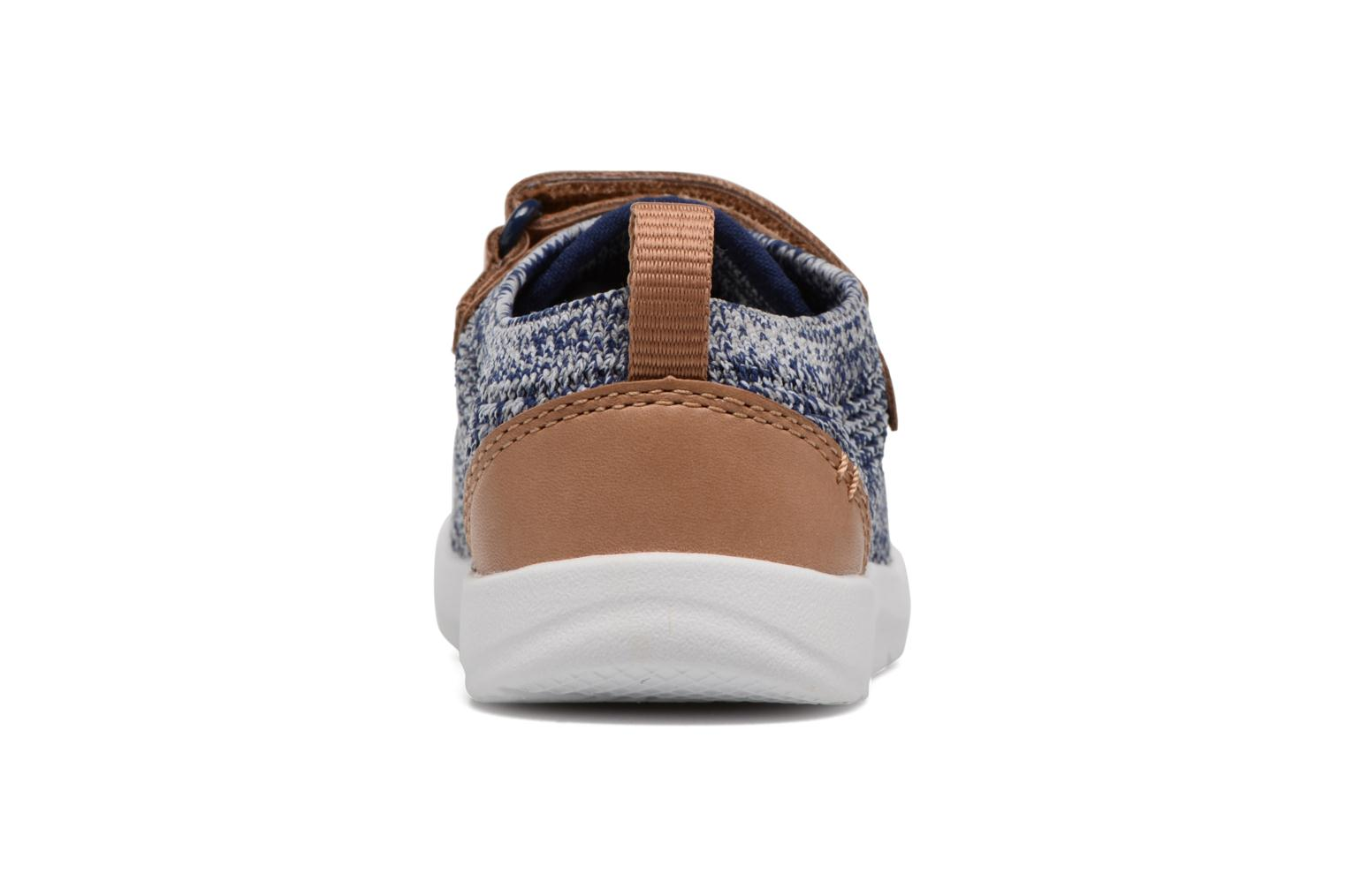 Trainers Clarks Tri Move Blue view from the right