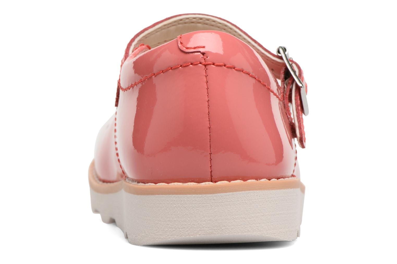 Ballet pumps Clarks Crown Jump Pink view from the right