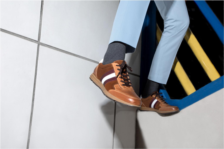 Sneakers Marvin&Co Doncaster Bruin onder