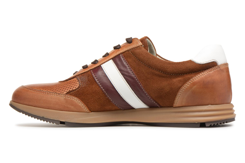 Sneakers Marvin&Co Doncaster Bruin voorkant