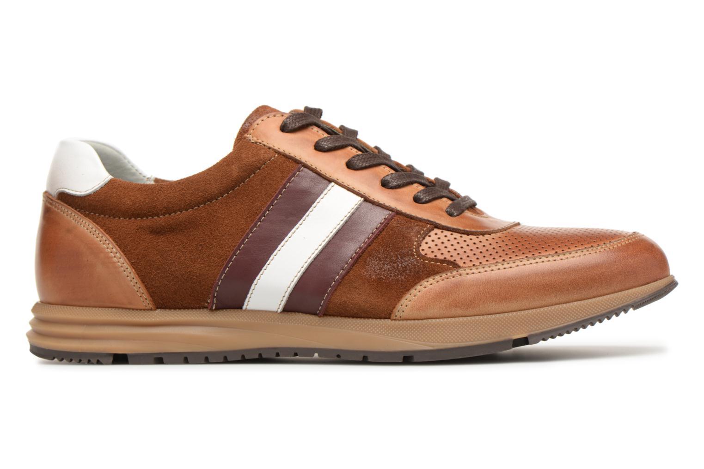 Sneakers Marvin&Co Doncaster Bruin achterkant