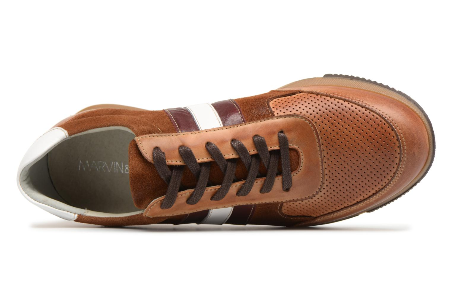 Sneakers Marvin&Co Doncaster Bruin links