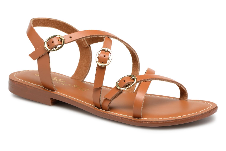 Grandes descuentos (Marrón) últimos zapatos L'Atelier Tropézien Louise (Marrón) descuentos - Sandalias Descuento 28a8a5