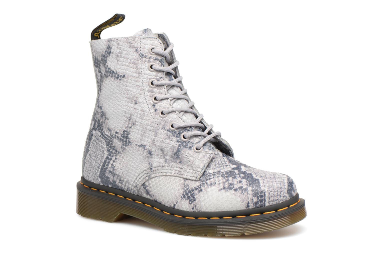 Zapatos promocionales DR. Martens Pascal Snake (Gris) - Botines    Los zapatos más populares para hombres y mujeres