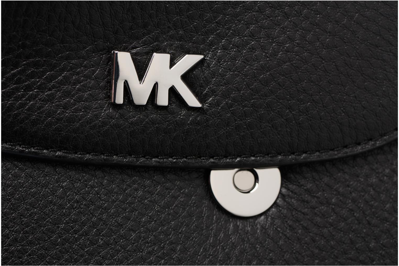 Bolsos de mano Michael Michael Kors Half Dome Crossbody Negro vista lateral izquierda