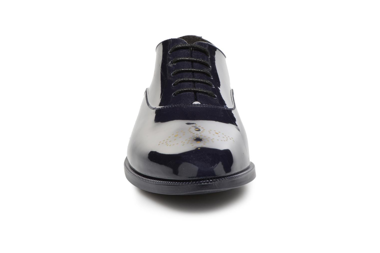 Chaussures à lacets Lemon Jelly Jeny 14 Bleu vue portées chaussures