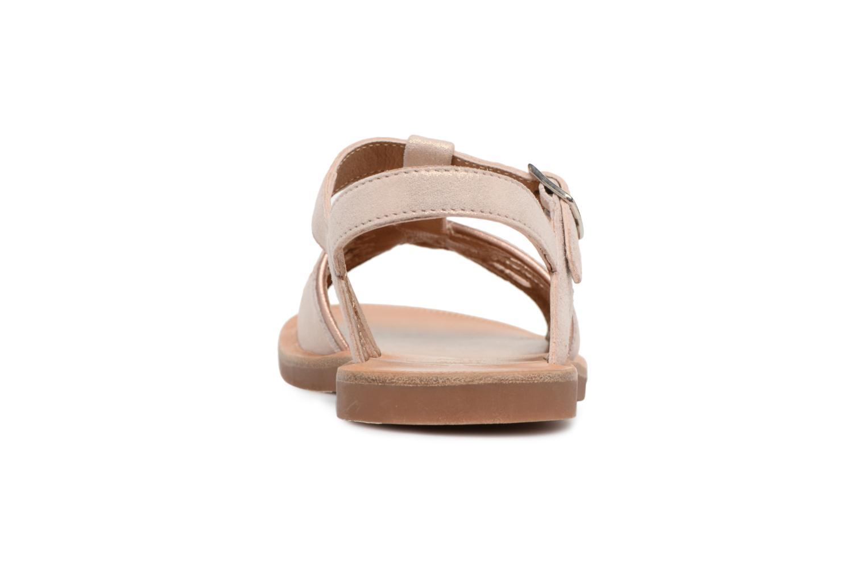 Sandales et nu-pieds Pom d Api Plagette Daisy Rose vue droite