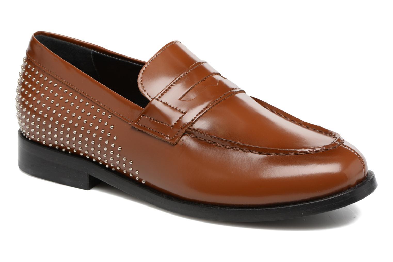 Grandes descuentos últimos zapatos G.H. Bass WEEJUN CHIC Simone Studs/0CG (Marrón) - Mocasines Descuento