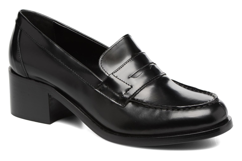 Zapatos promocionales G.H. Bass WEEJUN CHIC Simone Heel/000 (Negro) - Mocasines   Cómodo y bien parecido