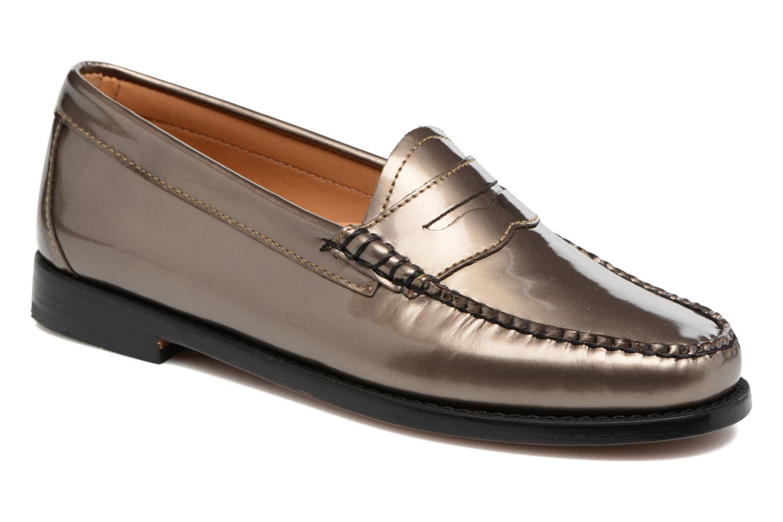 Grandes descuentos últimos zapatos G.H. Bass WEEJUN WMN Penny Wheel Print (Oro y bronce) - Mocasines Descuento