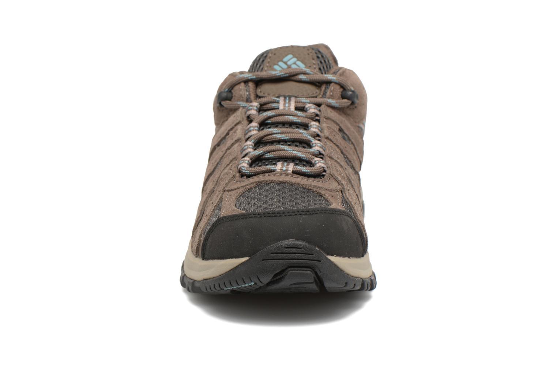 Chaussures de sport Columbia Canyon Point Gris vue portées chaussures