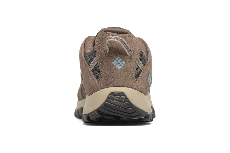 Chaussures de sport Columbia Canyon Point Gris vue droite