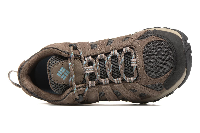 Chaussures de sport Columbia Canyon Point Gris vue gauche