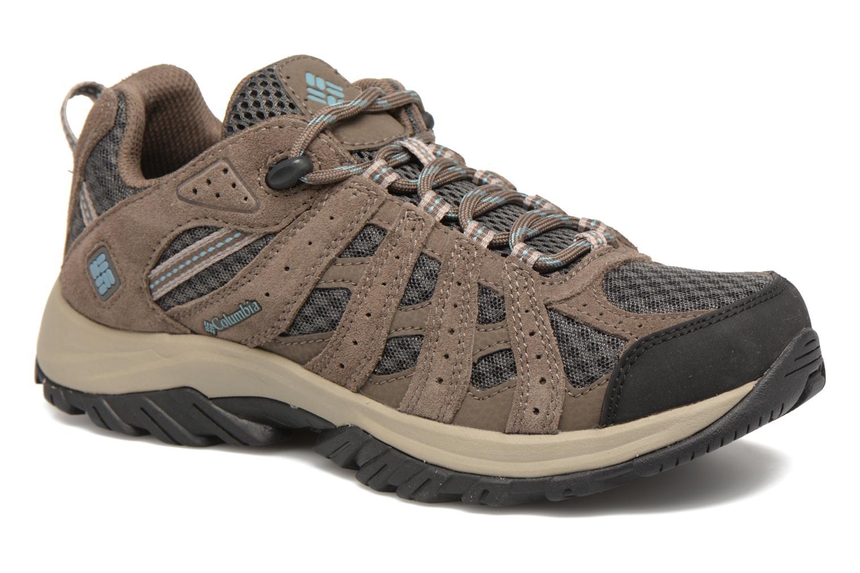 Chaussures de sport Columbia Canyon Point Gris vue détail/paire