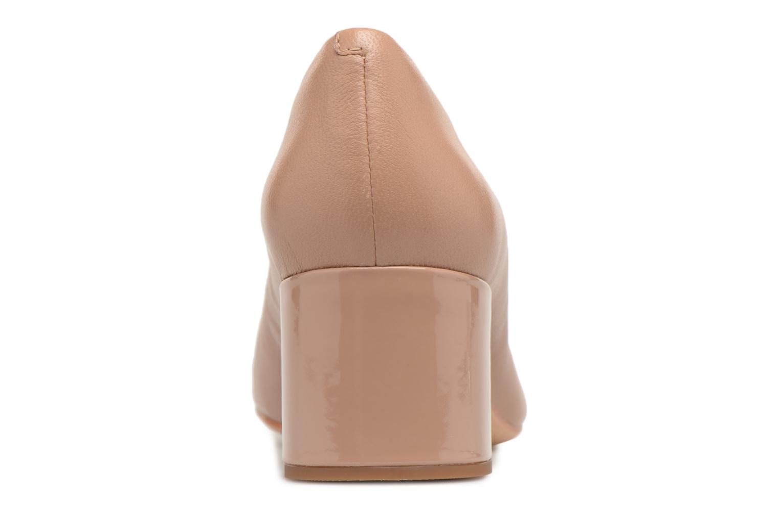 High heels Clarks Orabella Mia Beige view from the right