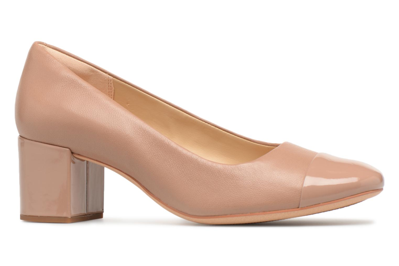 High heels Clarks Orabella Mia Beige back view