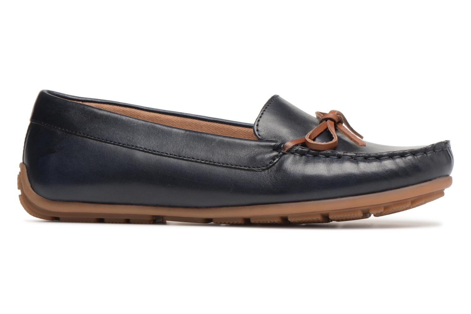 Loafers Clarks DAMEO SWING Blue back view