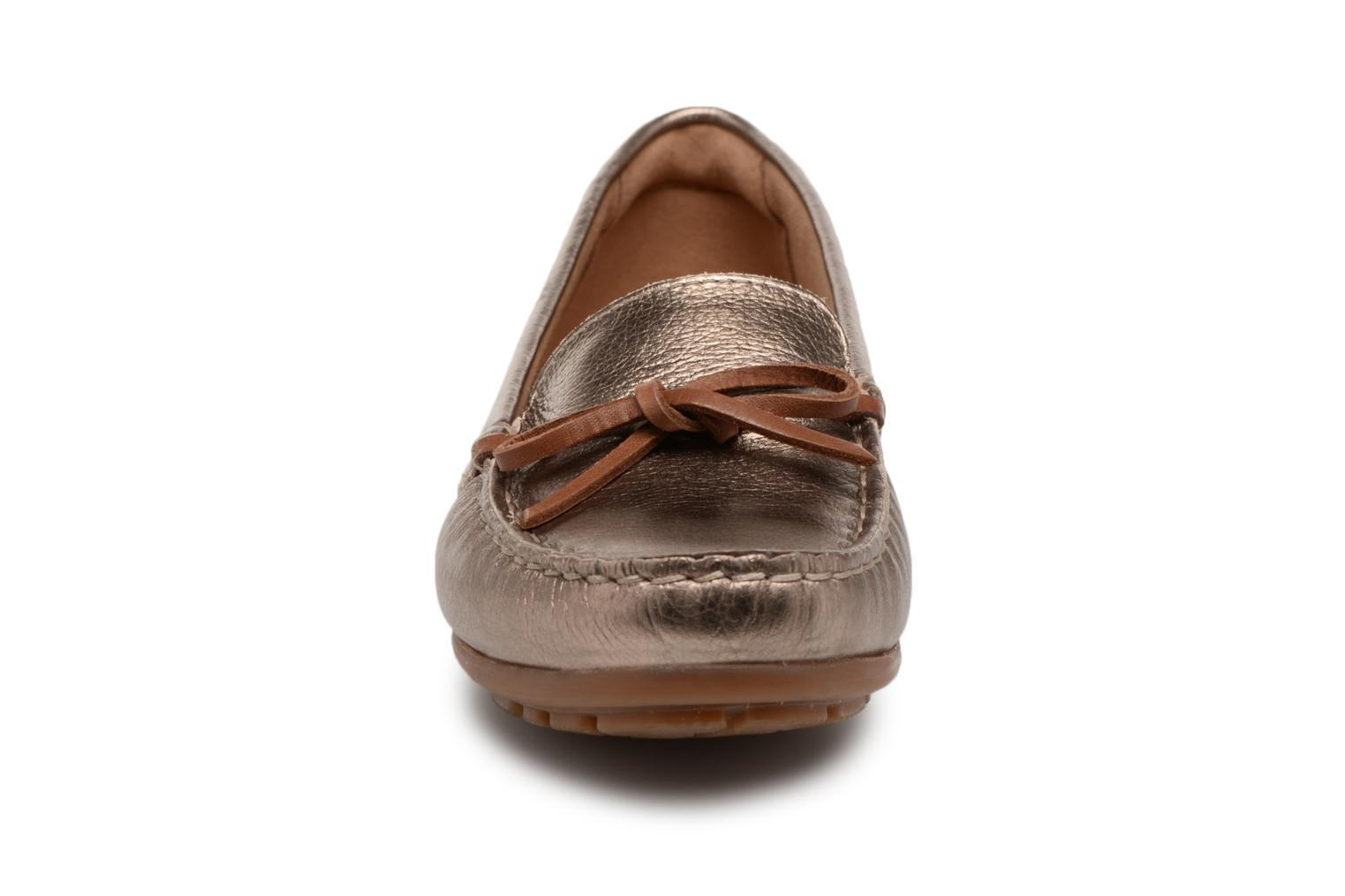 Loafers Clarks DAMEO SWING Bronze and Gold model view