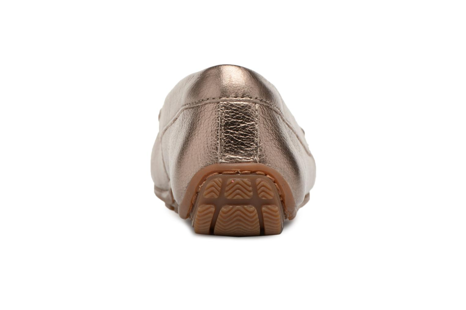 Loafers Clarks DAMEO SWING Bronze and Gold view from the right