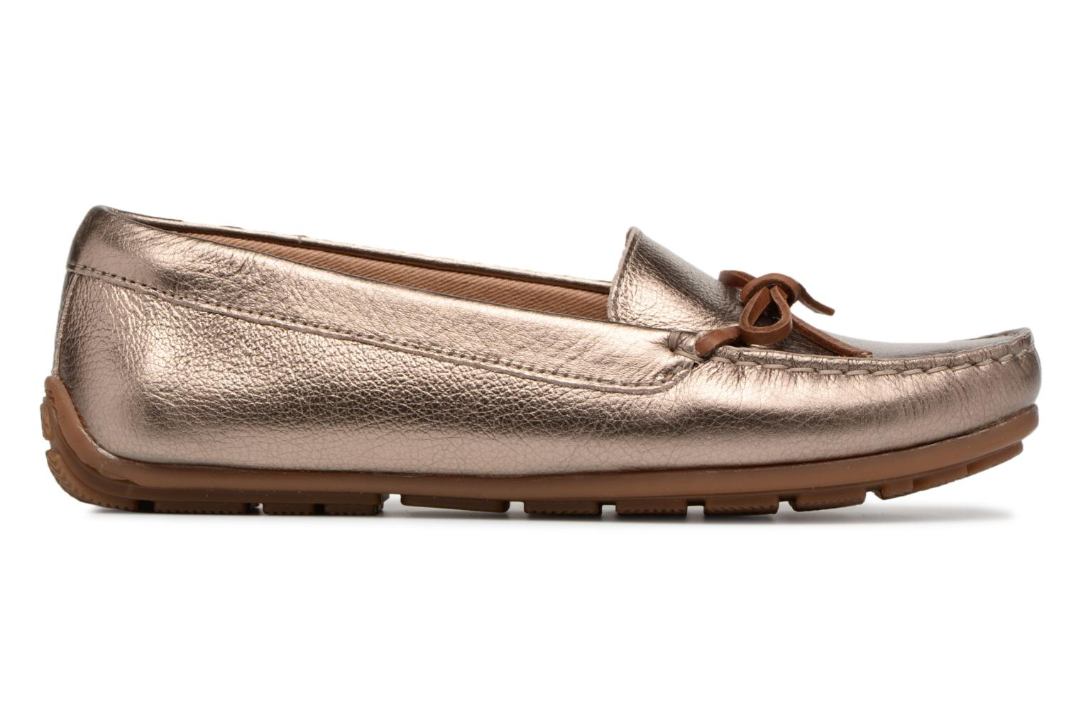 Loafers Clarks DAMEO SWING Bronze and Gold back view