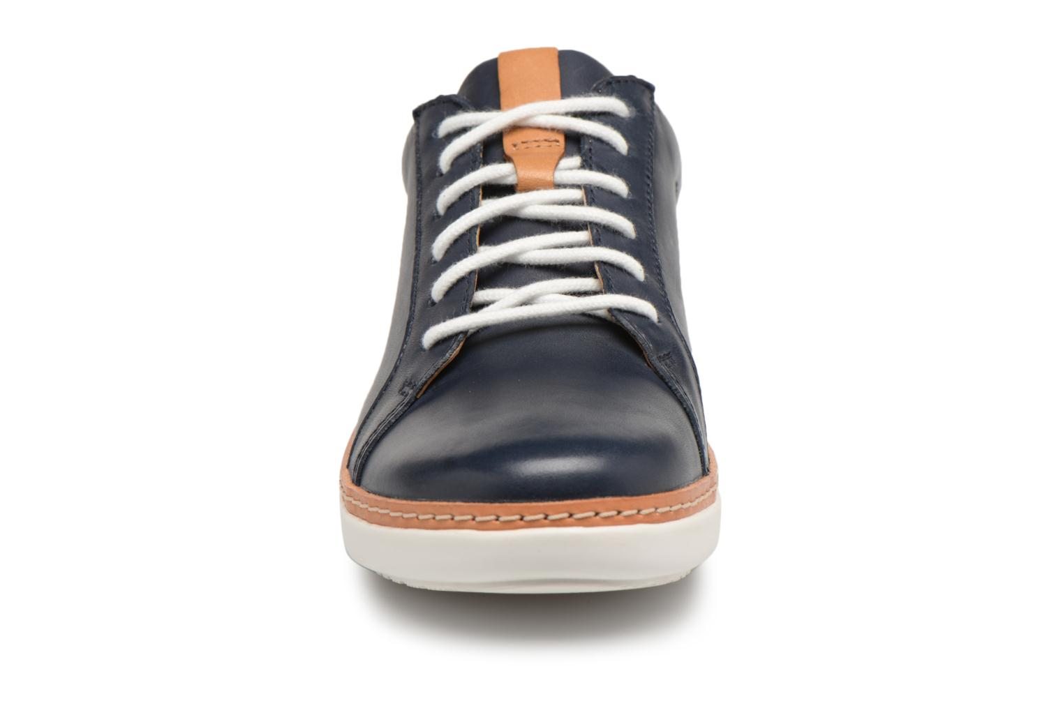 Lace-up shoes Clarks Amberlee Rosa Blue model view