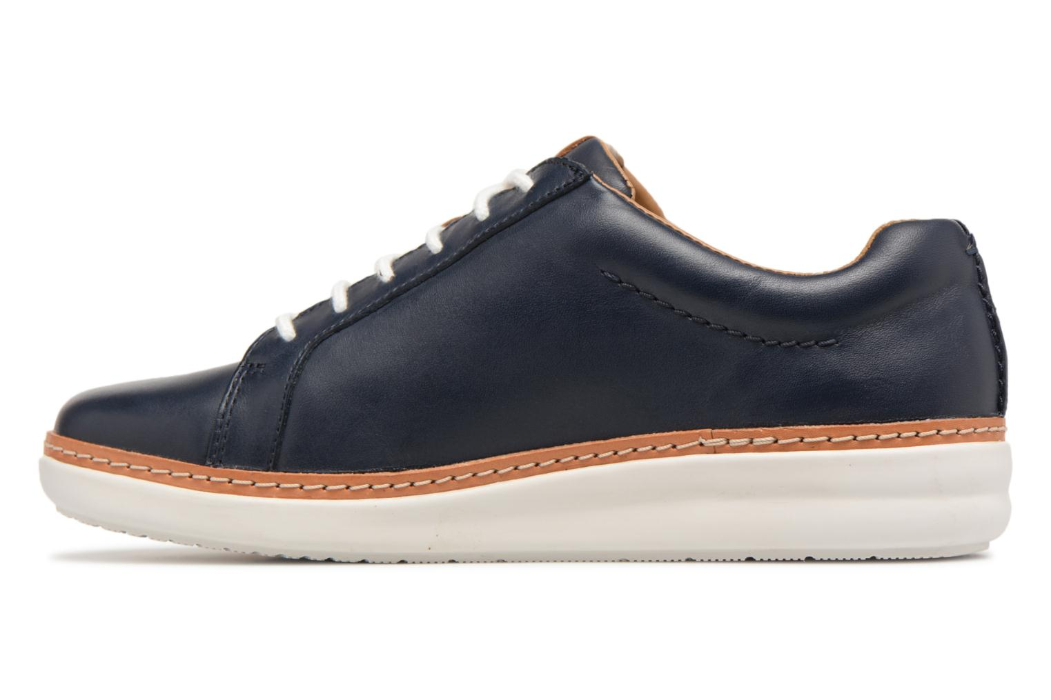Lace-up shoes Clarks Amberlee Rosa Blue front view