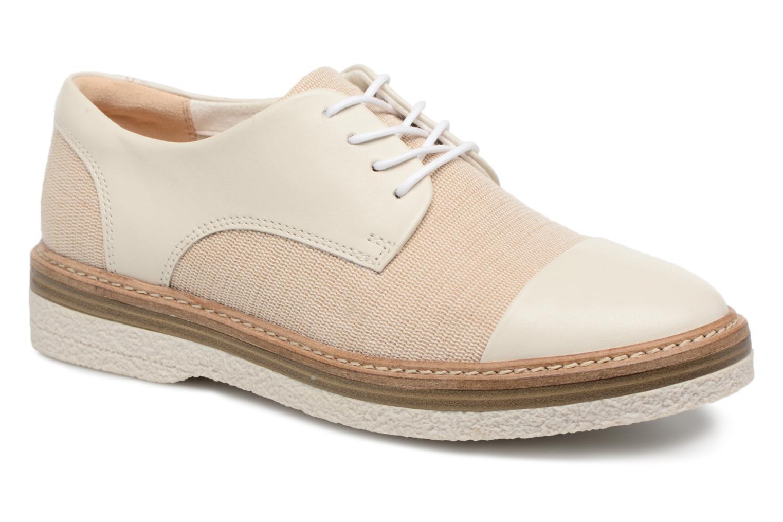 Zapatos de hombre y mujer de promoción por tiempo limitado Clarks Zante Sienna (Blanco) - Zapatos con cordones en Más cómodo