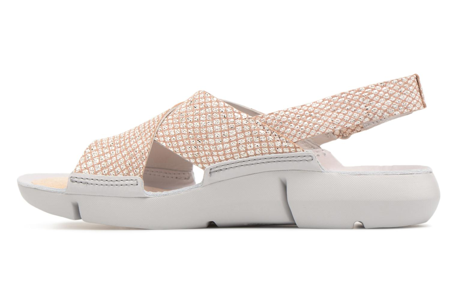 Sandals Clarks Tri Chloe Silver front view
