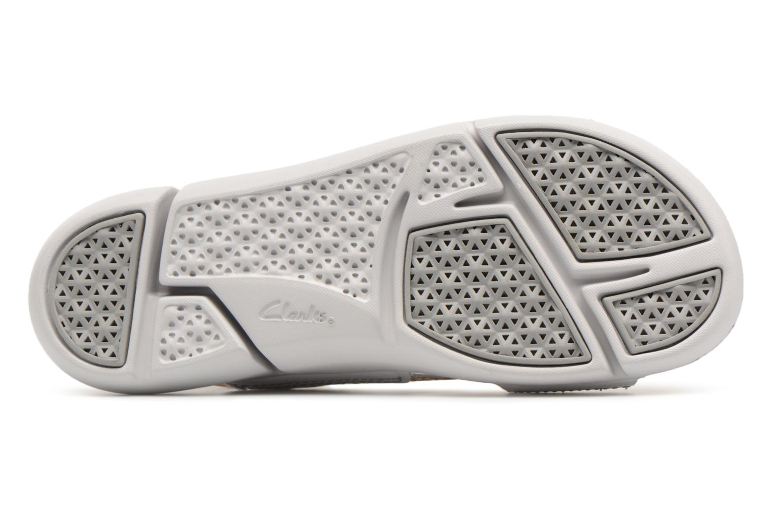 Sandals Clarks Tri Chloe Silver view from above