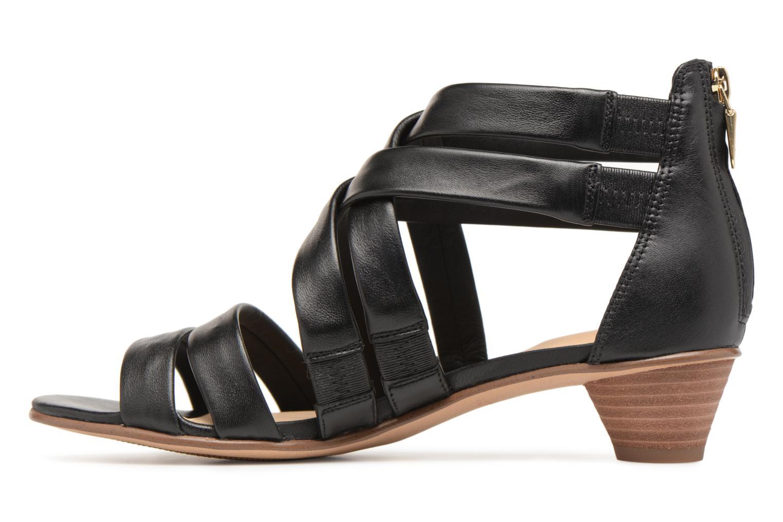 Sandals Clarks Mena Silk Black front view