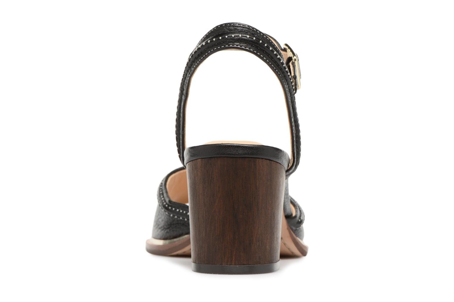 Sandals Clarks Ellis Clara Black view from the right