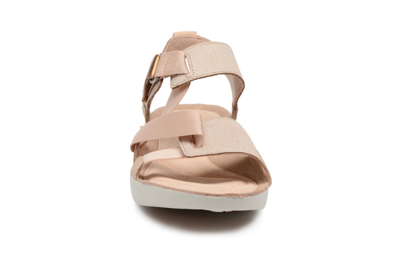 Sandals Clarks Tri Clover Pink model view