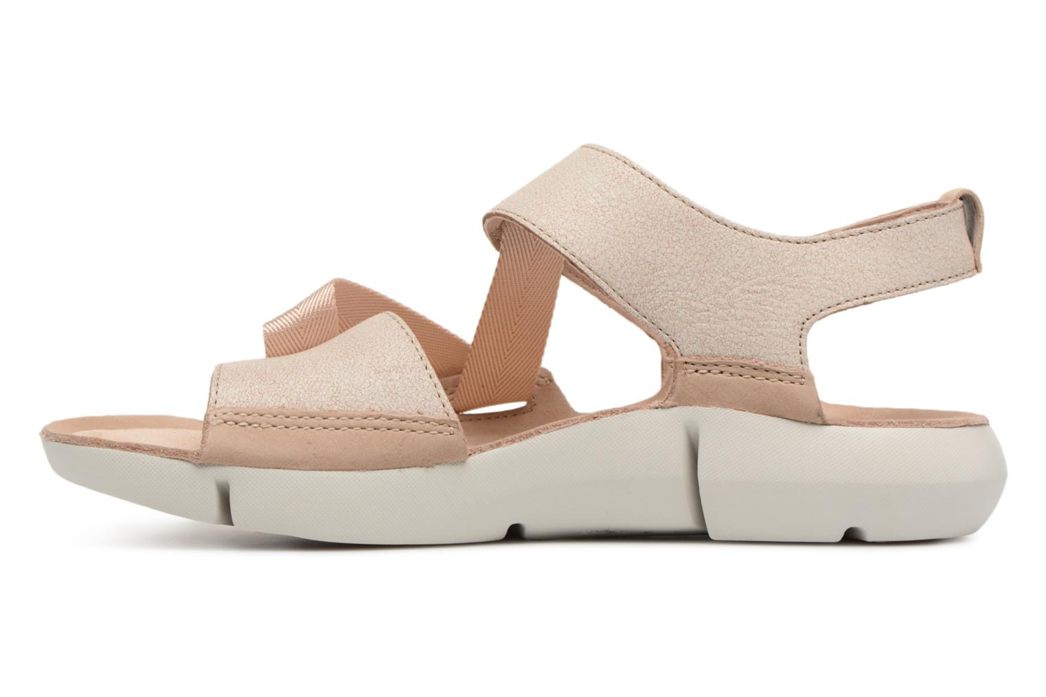 Sandals Clarks Tri Clover Pink front view