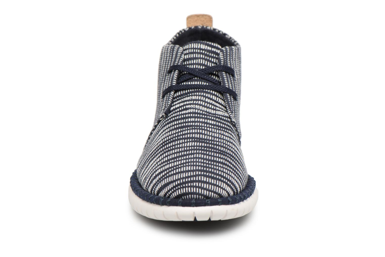 Lace-up shoes Clarks MZT Liberty Blue model view